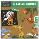 Cartes velours La Jungle