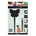 TAG silhouette Papillon