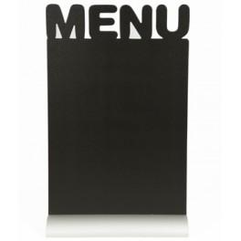 Silhoutte de table avec socle aluminium MENU