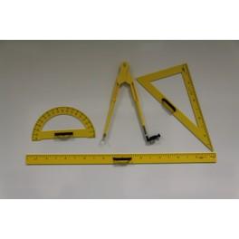 Lot de 4 outils de traçage magnétique