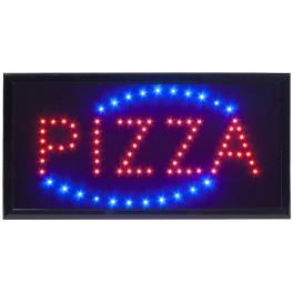 "Enseigne lumineuse à LED ""PIZZA"""