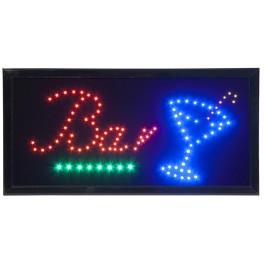 "Enseigne lumineuse à LED ""BAR"""