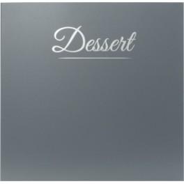 Carte des desserts Casselin Classique Gris Anthracite
