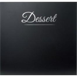 Carte des desserts Casselin Classique Noir