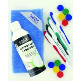 Kit de nettoyage pour tableau blanc