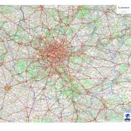 Carte Ile de France - Michelin