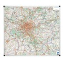 Carte Ile de France - Magnétique