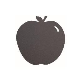 Ardoise noire pour restaurants - Silhouette murale POMME