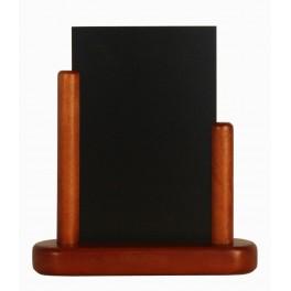 porte menu de table cadre bois coloris acajou caf h tel restaurant. Black Bedroom Furniture Sets. Home Design Ideas