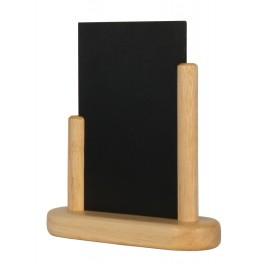Porte-menu de table cadre bois coloris naturel