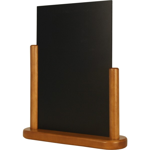 porte menu de table cadre bois coloris teck caf h tel. Black Bedroom Furniture Sets. Home Design Ideas