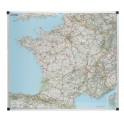 Carte de France routière magnétique