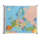 Carte d'Europe - Magnétique