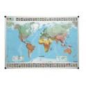 Carte du monde - Magnétique