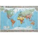 Carte du monde - Souple