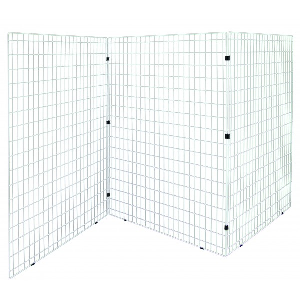 3 grilles d 39 exposition blanches caf h tel restaurant. Black Bedroom Furniture Sets. Home Design Ideas