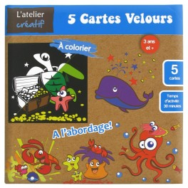 Carte velours A l'Abordage