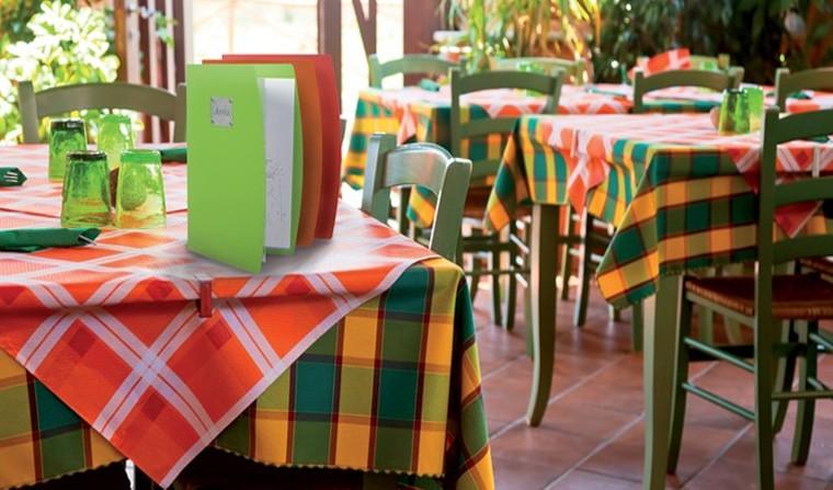 Porte menu restaurant